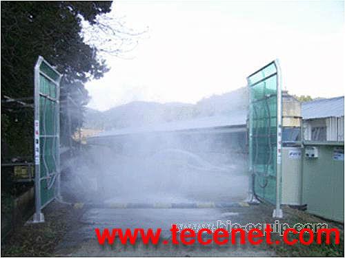 车辆消毒液喷淋装置