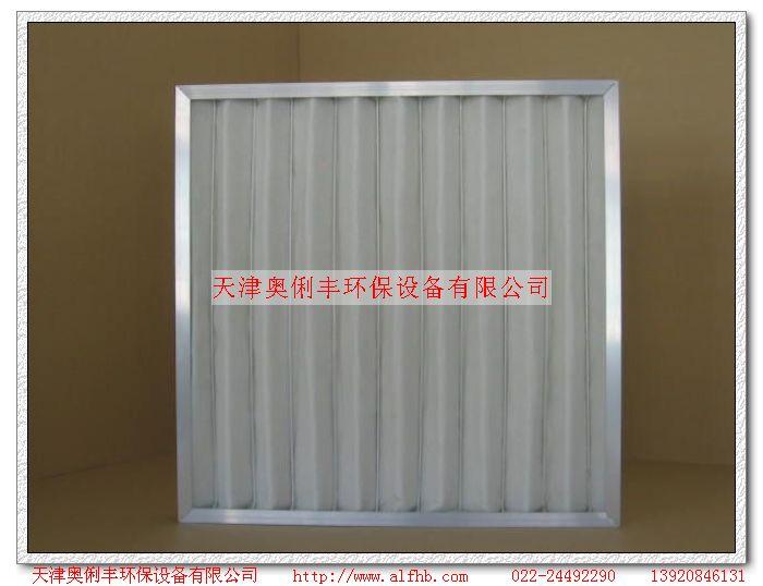 铝框板式过滤器