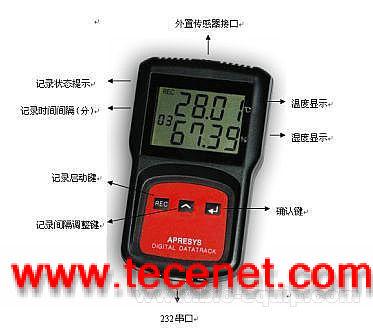 福建仓库专用高精度温湿度记录仪