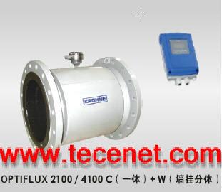 科隆电磁流量计OPTIFLUX2100C+W