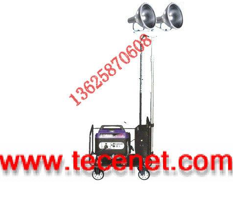 轻型升降泛光灯/汽油发电机移动照明灯