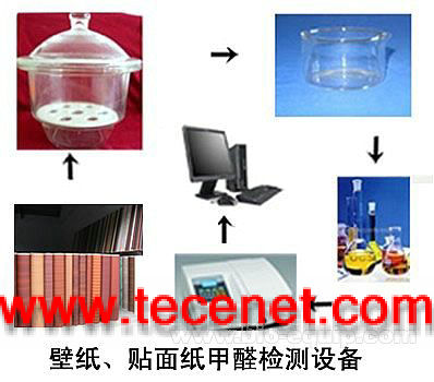 壁纸、贴面纸甲醛检测设备(干燥器法)