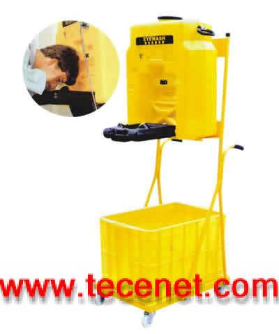 广州便携移动式洗眼器(小推车)