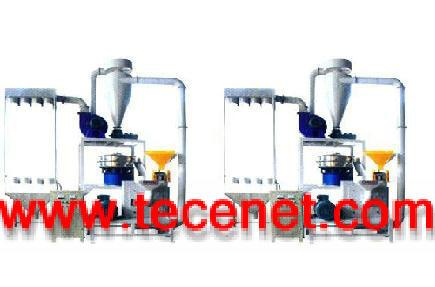 SMF型高速涡流塑料磨粉机组