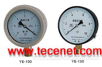 YE膜盒压力表