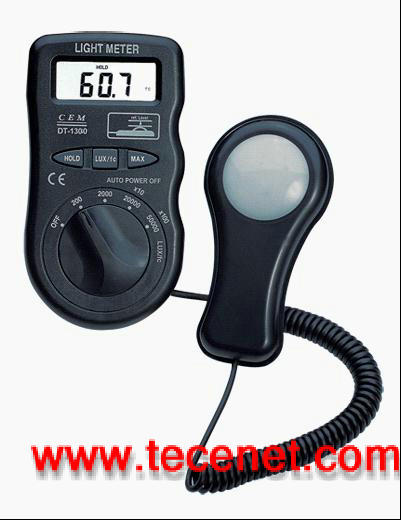 CEM华盛昌照度计DT-8809A