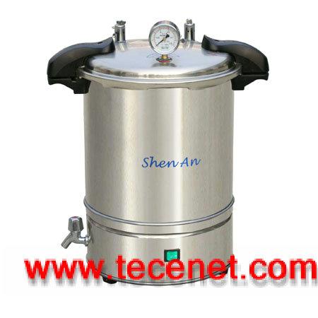 18立升不锈钢手提式灭菌器(电热型)