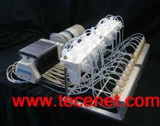 三维骨构建机械刺激模拟培养系统