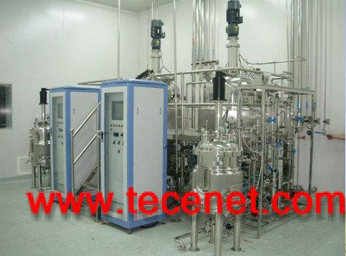 6000B型100+1000L动物疫苗发酵罐