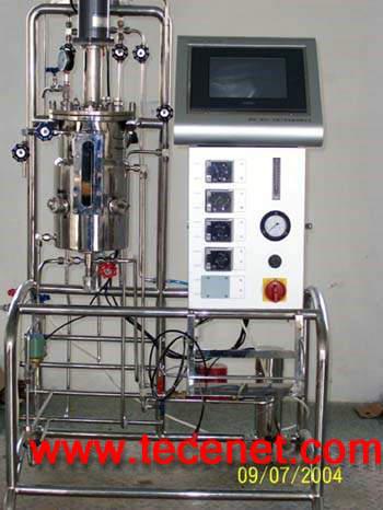 实验室全自动不锈钢机械搅拌发酵罐