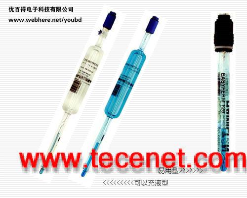 国际顶尖的单孔概念pH高温高压电极