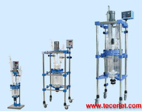 实用型双层玻璃反应釜