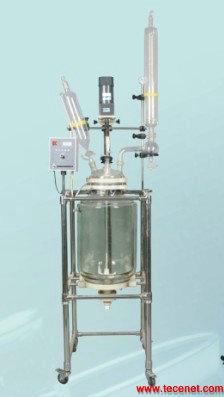 双层玻璃反应釜/双层玻璃反应器