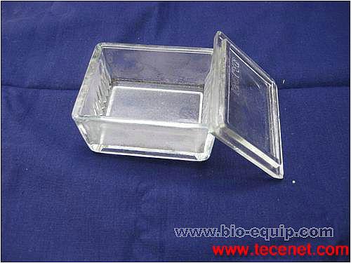 10片装卧式带盖方形染色缸