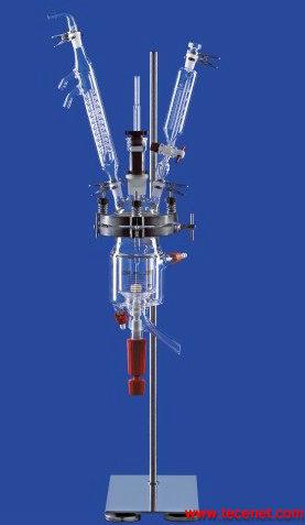 进口LENZ实验室夹套玻璃反应釜(肖特玻璃)