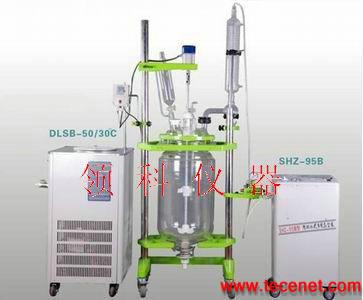 三层玻璃反应釜S312-10-100L