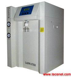 离子交换纯水机三个水口:纯水二级水超纯水
