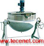 可倾带搅拌夹层锅(上海宣辰机械)