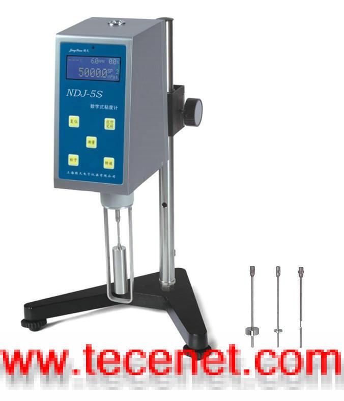 NDJ-5S数字式旋转粘度计(黏度计专业生产厂)
