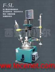 2L5L单层玻璃反应釜|单层玻璃反应器