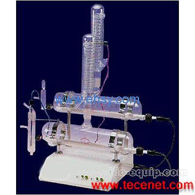 自动双重纯水蒸馏器(石英管加热器)