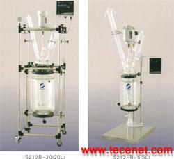 变频恒速双层玻璃反应釜