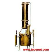 全不锈钢塔式蒸汽蒸馏水器