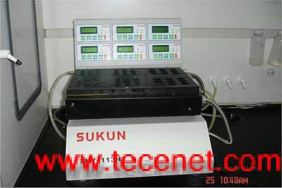 高通量平行合成仪6个温控区