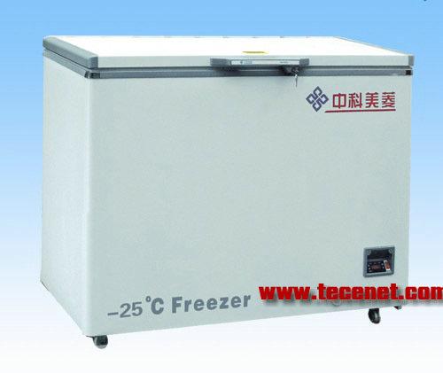 -25℃低温冷冻储存箱DW-YW110A中科美菱冰箱