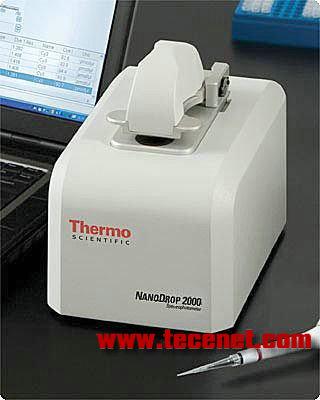 超微量紫外可见分光光度计 核酸蛋白测定仪