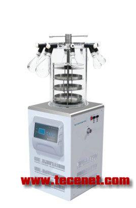立式冷冻干燥机带加热-60℃多歧管压盖型
