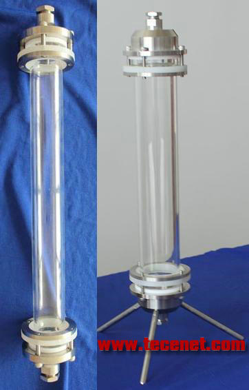中压玻璃制备色谱柱、特制玻璃层析柱