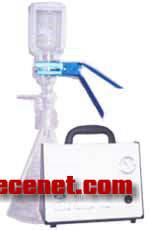 玻璃溶剂过滤器全玻璃过滤器配无油真空泵