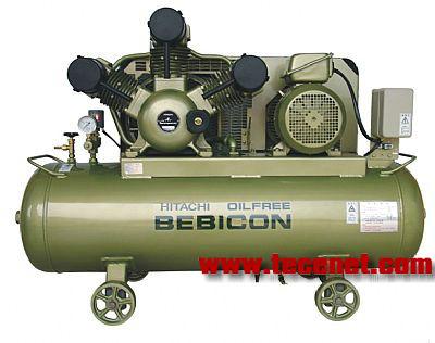 日立全无油活塞式空气压缩机5.5OP-9.5G5C
