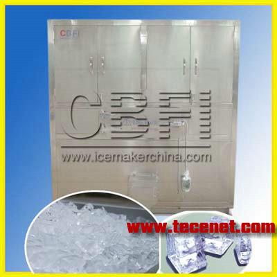 冰泉日产1吨的颗粒冰制冰机