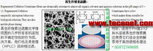 再生纤维素滤膜