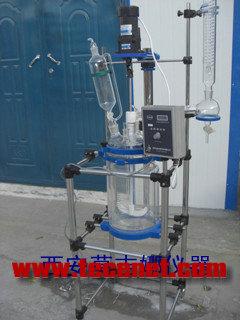 双层玻璃反应釜的使用说明