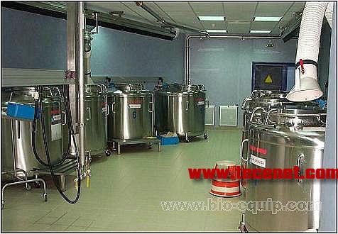 基因库、脐血库用大容量液氮罐