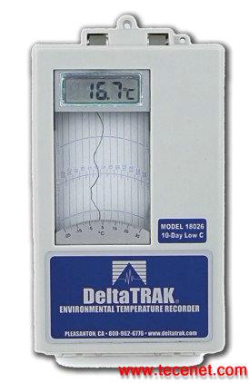 DeltaTRAK LCD数显环境温度记录仪