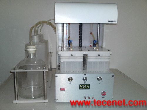 厂家直销、出口美国遥控型双96/384针洗板机