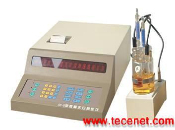 库仑水分仪SF-6型微量水分测定仪