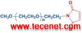 单甲氧基聚乙二醇 -马来酰亚胺 mPEG-MAL