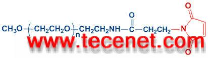 单甲氧基聚乙二醇 -丙酰胺马来酰亚胺