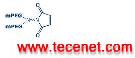 Y-型甲氧基聚乙二醇马来酰亚胺 Y-MAL