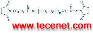 马来酰亚胺-聚乙二醇- 琥珀酰亚胺乙酸酯