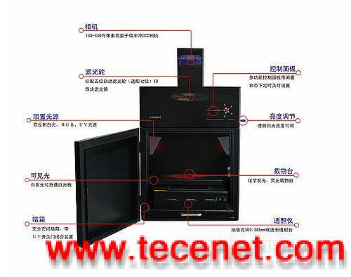 全自动多色荧光/化学发光凝胶图像分析系统