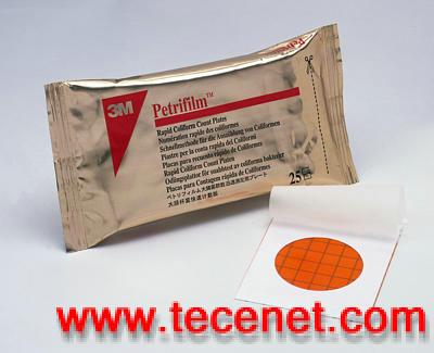 3M Petrifilm™快速大肠菌群测试片Rapid Coliform Count Plates