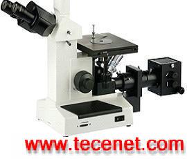 三目倒置金相显微镜(实验型)