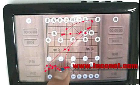 手指轨迹追踪系统