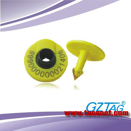 RFID低频电子耳标厂价批发RFID猪耳标